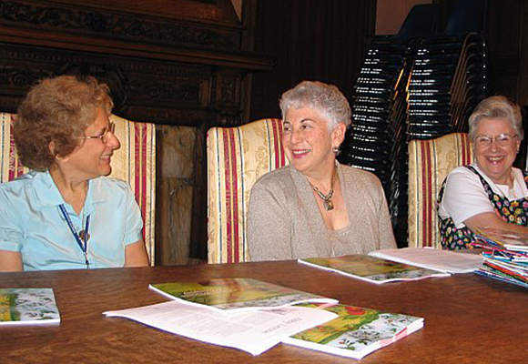 2006 with Abby Levine flanked by Carrel Muller and Virginia Butler