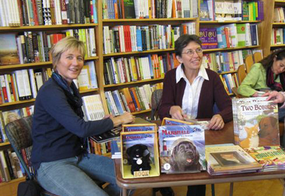 2008 book signings with Whitney Stewart and Jean Cassels