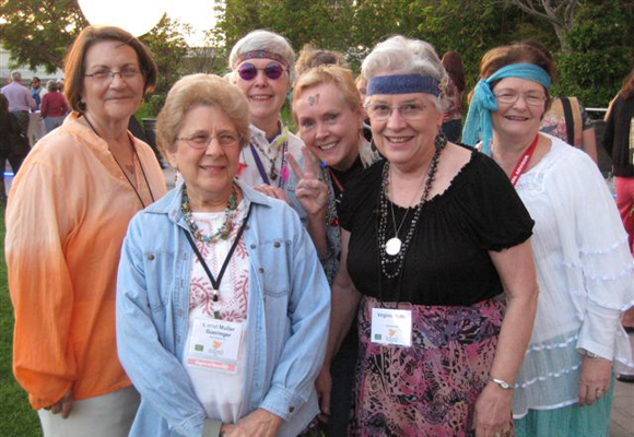 Hippies at SCBWI national conference 2012