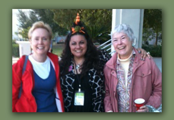 At the 2011 Louisiana Book Festival (left to right): Cheryl Mathis, Dianne de las Casas, and Virginia Howard